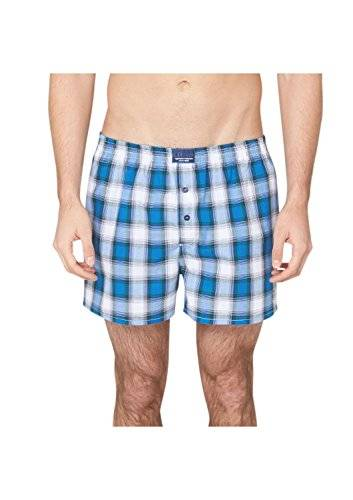 s.Oliver - Boxer Homme - Multicolore - Mehrfarbig (white multicolor check 01N1) - X-Large