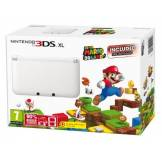 Nintendo Console Nintendo 3DS XL blanche + Super Mario 3D Land (pre-installed) [import anglais] Nintendo 3DS