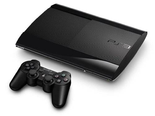 Sony Console PS3 Super slim 12 GB + DualShock 3 Wireless Controller [import allemand] PlayStation 3