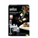 Braun 64196742 Mixeur Plongeant Multiquick 5 MR550 Buffet Multifonction