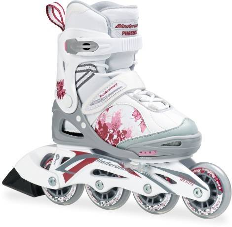 Bladerunner Phaser XR Rollers pour enfant Rose/blanc Pointure 32 Multicolore blanc/rose Taille 36.5 - 40.5