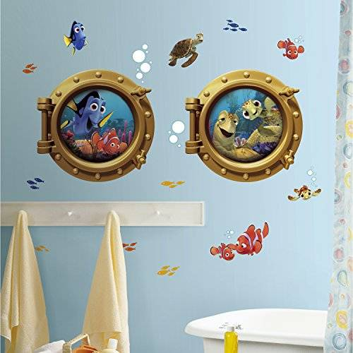 RoomMates Finding Nemo Peel And Stick Giant Stickers Muraux