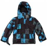 Quiksilver Next Mission Printed Youth Jkt Veste de snow garçon Dna Snow Black 12 ans