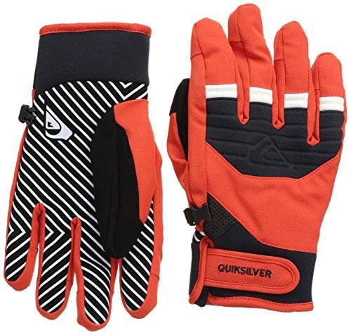 Quiksilver Method Gants Homme Fiery Red FR : L (Taille Fabricant : L)