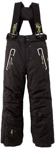 Geographical Norway Xobalt Pantalon fille Noir/Blanc FR : 10 ans (Taille Fabricant : 10)