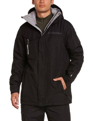 Oxbow Sarno Veste homme Noir FR : S (Taille Fabricant : S)