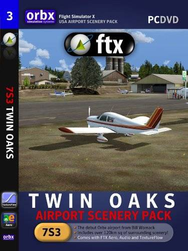Orbx FTX Twin Oaks - Airort Scenery Pack (engl.) [import allemand] PC