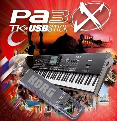Korg PA-3X TK USB-Stick B-Stock