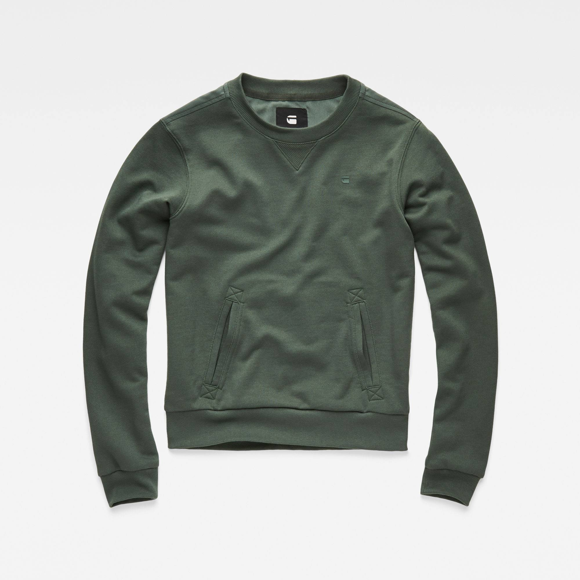 G-Star RAW Cropped Hybrid Archive Sweater