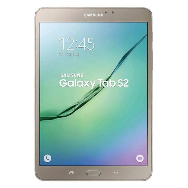"""Samsung Tablet Samsung Tab S2 Sm T713 8"""" Super Amoled 32 Gb Octa Core 8 Mp Wifi Bluetooth Android Refurbished Gold"""