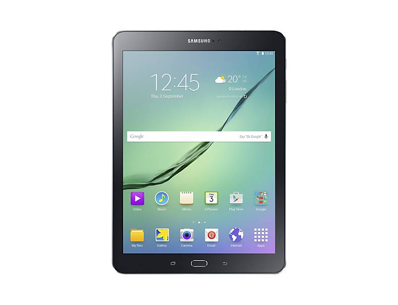 "Samsung Tablet Samsung Galaxy Tab S2 (2016) Sm T819 9.7"" Super Amoled 32 Gb Octa Core 4g Lte Wifi Bluetooth 8 Mp Android Refurbished Nero"