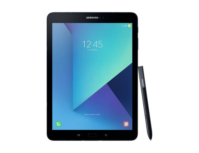 "Samsung Tablet Samsung Galaxy Tab S3 Sm T825 9.7"" Super Amoled 32 Gb Quad Core 4g Lte Wifi Bluetooth 13 Mp Android Refurbished Nero"