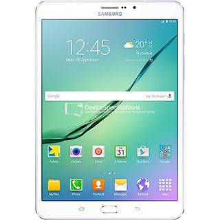 "Samsung Tablet Samsung Galaxy Tab S2 (2016) Sm T819 9.7"" Super Amoled 32 Gb Octa Core 4g Lte Wifi Bluetooth 8 Mp Android Refurbished Bianco"