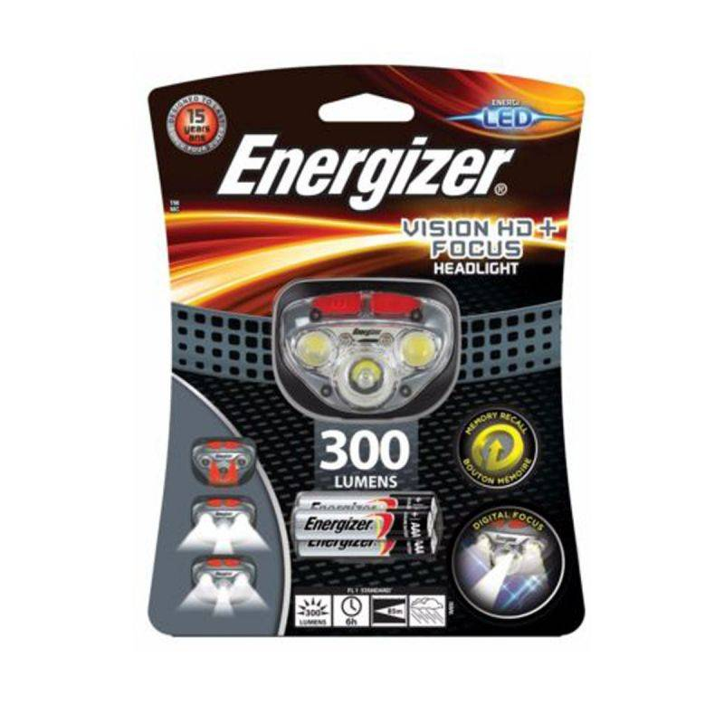 Energizer Torcia A Led Frontale  Vision Hd+ Focus