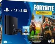 Sony 9724315 Playstation 4 Pro Ps4 Pro 1 Tb Wifi Bluetooth Lan Gioco Fortnite Bundle Edition Colore Nero - 9724315