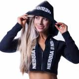 NEBBIA Cropped Jacket with Hoodie (233) NEBBIA - VitaminCenter.it