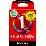 Lexmark Originale Lexmark Inchiostro colore 80D2955 No.1