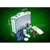Set Poker 200 pz Fish 11g Kit Chips Valigietta