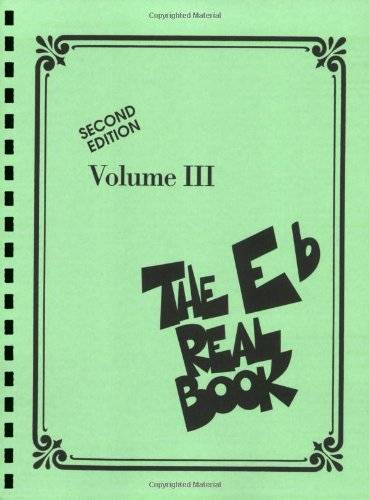 Not Available The Eb Real Book: 3