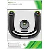 Microsoft Xbox 360 - Volante Wireless Speed Wheel, Nero