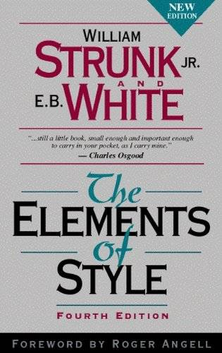 William Strunk The Elements of Style