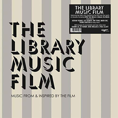 Ost The Library Music Film (8 Pages Booklet)