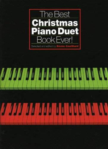 Various Best Christmas Piano Duet Book Ever