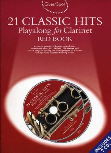 Compilation 21 classic hits playalong for violin: red book