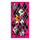 Mattel Toalla Monster High rombos