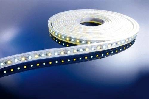 Kapego LED Stripe WW + CW 5 m 12 V IP65 600 LED