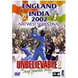England v India - Nat West Final 2002 [VHS] [Edizione: Regno Unito]