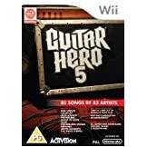 ACTIVISION BLIZZARD Guitar Hero 5 Game Only (Wii) [Edizione: Regno Unito]