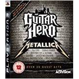 Only Guitar Hero: Metallica Game Only (PS3)