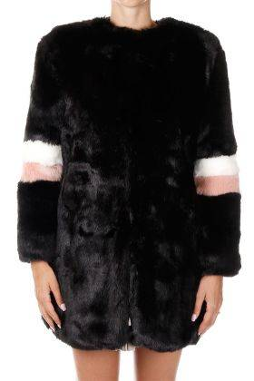 Dont Believe The Hype Cappotto In Pelliccia Ecologica  Autunno-Inverno Art. 51080