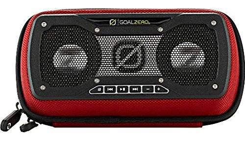 Goal Zero Rock Out 2 - portable speakers (Wired, Black, Red, Water resistant, Universal, Guide 10, Switch 8, Nomad 7, Solar, USB)
