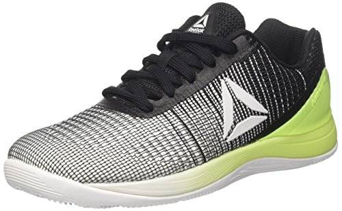 Reebok Crossfit Nano 7, Scarpe da Fitness Donna, Multicolore (White/Electric Flash/Black), 40 EU