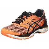 Asics Gel-Cumulus 18, Scarpe da Corsa Uomo, Arancione (Hot Orange/Black/White), 42.5 EU