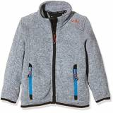 Campagnolo CMP giacca in pile, Ragazzo, Fleecejacke, Grey/Ice, 110
