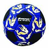 Schildkröt Funsports Schildkröt Fun Sports 970071 - Pallone da beach volley neoprene, colore: Rosso/Arancione/Blu