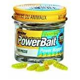 Berkley Powerbait, Mini larve da pesca, Giallo Twin Pack 110 Pack