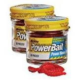 Berkley Powerbait, Vermi da pesca, Rosso Twin Pack 55 Pack