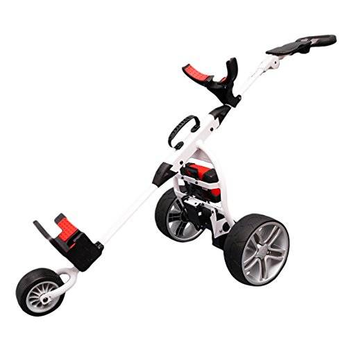 Score Industries Golftrolley spina rosso Trolley Mocad 3.5, Bianco, 35053