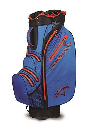 Callaway Hyper Dry Sacca da golf, unisex, 5118089, Royal/Black/Red, M