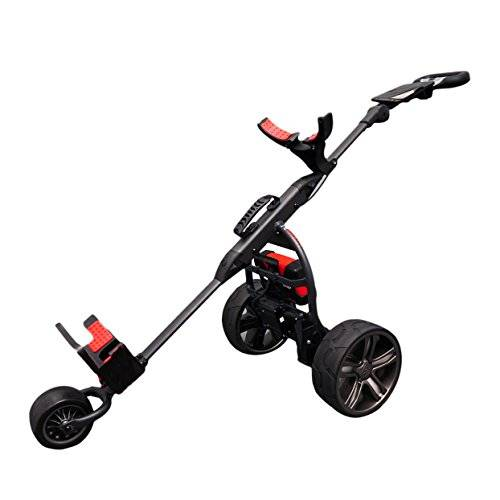 Score Industries Golftrolley spina rosso Trolley Mocad 3.5DHA, Nero, 35052