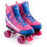 Osprey chevron High Top Fly Knit Quad skate, unisex, Chevron, Pink