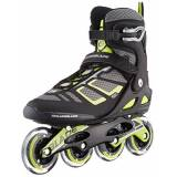 Rollerblade Macroblade 90, Pattini in Linea Uomo, Nero Lime, 265