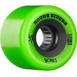 BONES ATTM Roughriders-Set di 4 ruote 56 mm, colore: verde