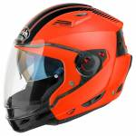 Airoh Executive Stripes Casco del motociclo Arancione S (55/56)