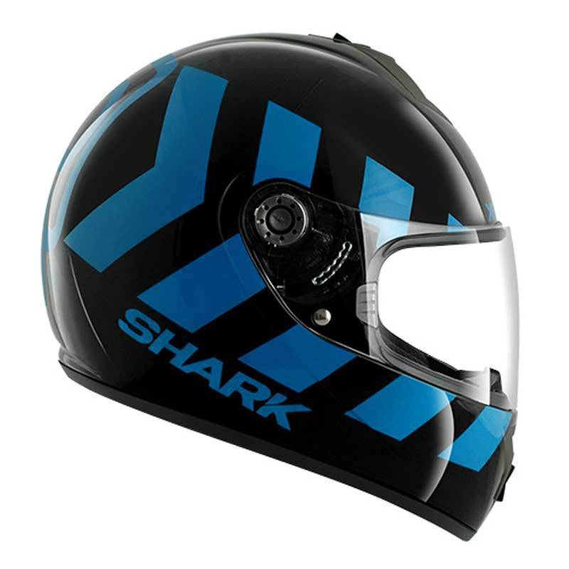 Shark S600 No Panic Casco Blu S (55/56)