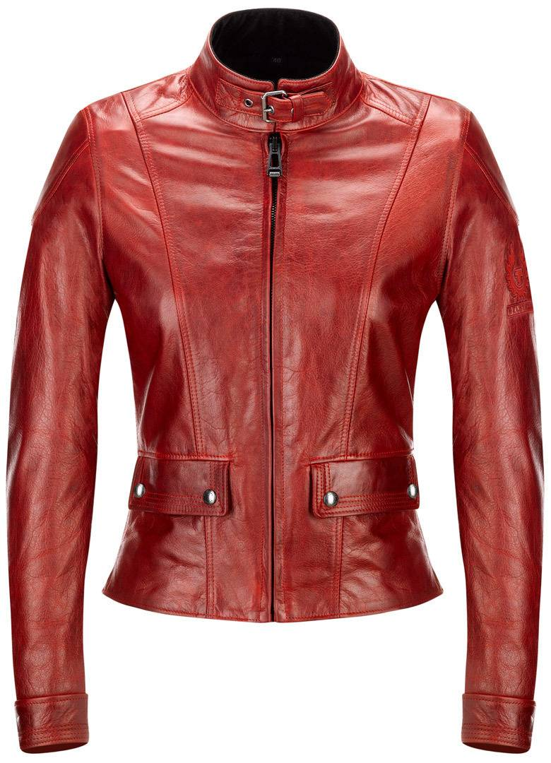 Belstaff Fordwater Giacca in pelle da donna Rosso 48